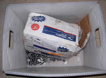 scrap carbide for recycling in usps basket