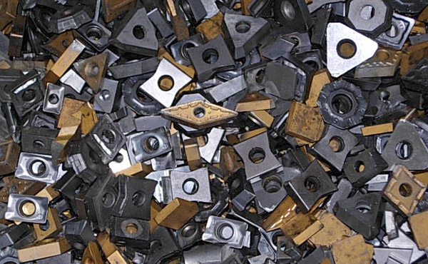 scrap carbide inserts for recycling